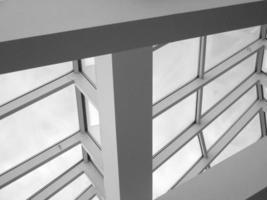 arquitetura moderna - clarabóia foto