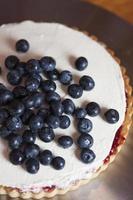 torta de mirtilo foto
