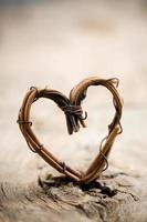 coração dos namorados foto