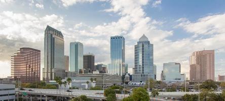 Tampa, Flórida, durante o dia foto