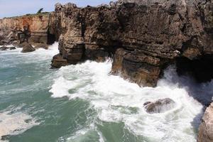 falésia e mar, cascais, lisboa, portugal