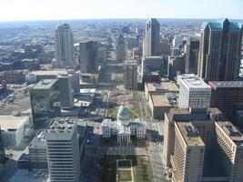 centro da cidade st. Louis, Missouri foto