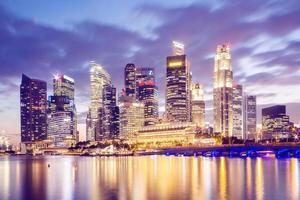 skyline de cingapura