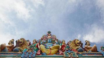 templo sri mariamman foto