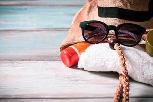 conceito de férias de verão foto