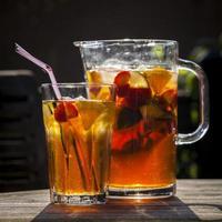 bebida de verão frutado foto