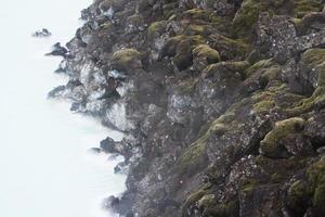 lagoa azul, islândia foto