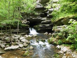 blanchard springs caverna arkansas foto