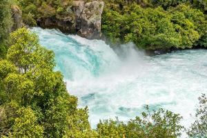 huka falls - taupo, nova zelândia foto