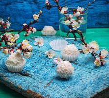 sobremesa primavera foto