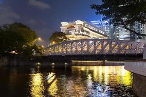 vista para a ponte de anderson. foto