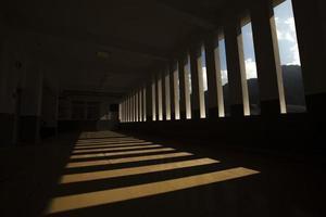 sombras na escola