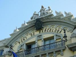 edifício porto de barcelona foto