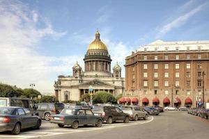 São Petersburgo. paisagem urbana foto