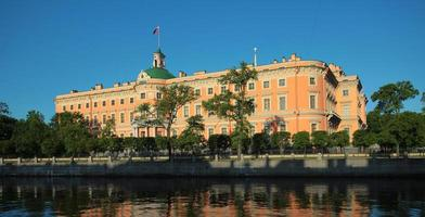 castelo do engenheiro. São Petersburgo, Rússia foto