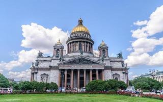 catedral de são isaac, são petersburgo, rússia foto