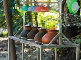 água potável em yangon, burma foto