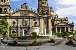 catedral de guadalajara em jalisco, méxico foto