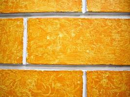 parede laranja foto