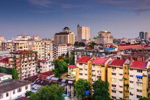 yangon downtown foto