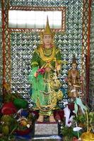 guardião de rohani bo bo gyi do pagode botahtaung foto
