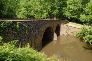ponte de pedra em manassas foto