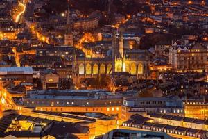 cidade de bath somerset inglaterra reino unido europa foto