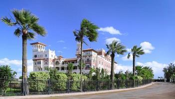 Palácio de montaza em alexandria, egito. foto