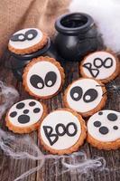biscoito do dia das bruxas foto