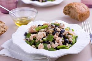 salada de feijão foto