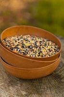 mistura de lentilhas. foto