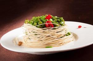 feijão verde refogado frito