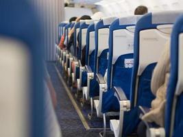 assentos de passageiros