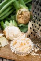 salada de aipo caseiro foto
