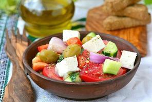 salada grega foto
