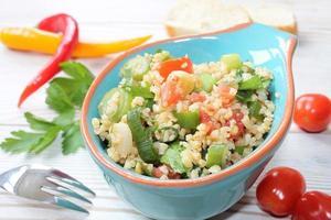 salada de cuscuz foto