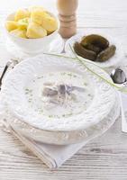 salada de arenque foto