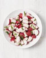 salada de rabanete foto