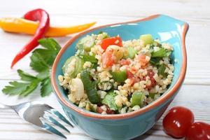 salada de bulgur foto