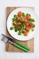 salada leve foto