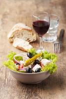 salada grega fresca