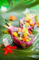 salada de frutas exóticas