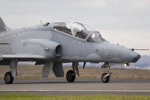 instrutor de jato de falcão aeroespacial britânico foto