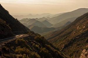paisagem árida da montanha