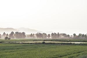 paisagem rural chinesa foto