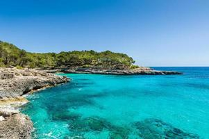paisagem do mar mediterrâneo