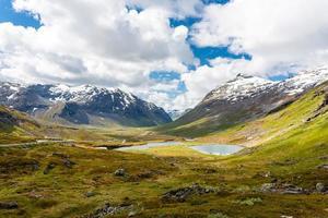 paisagem da Noruega.