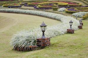 paisagem do jardim foto