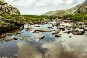 paisagem de montanha no verão