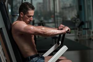 exercício no peito foto